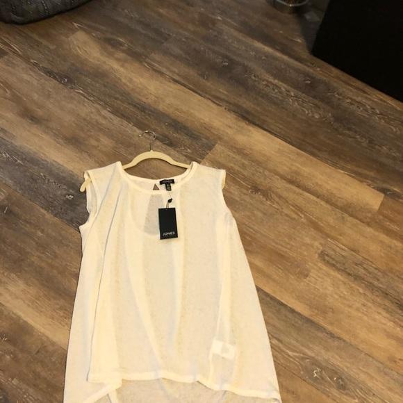 Jones New York Tops - New York Jones top sleeveless size large pretty